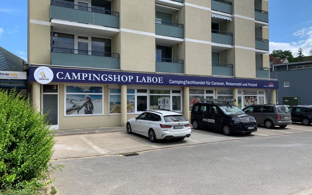 Campingshop Laboe